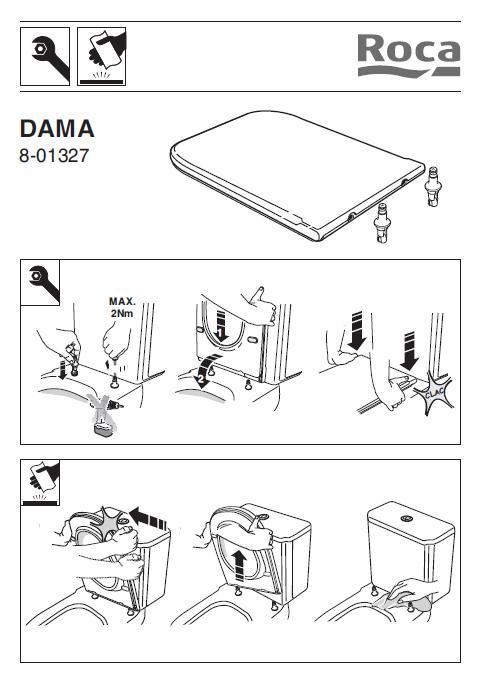 Instrucciones de Montaje asiento Dama Retro