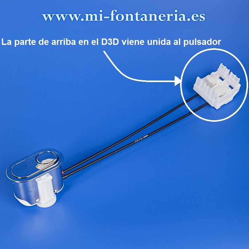 Pulsador descarga D3D de Roca