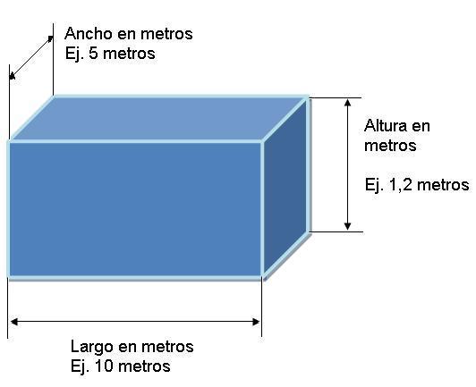 Resultado de imagen para Calculadora de volumen de agua