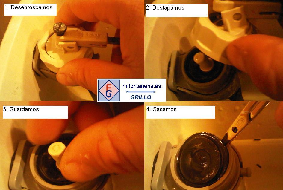 Reparaci n del mecanismo de alimentaci n a2l de roca el for Lo espejo 0847 la cisterna