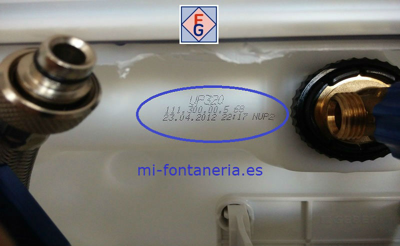 Interior de la Cisterna UP320