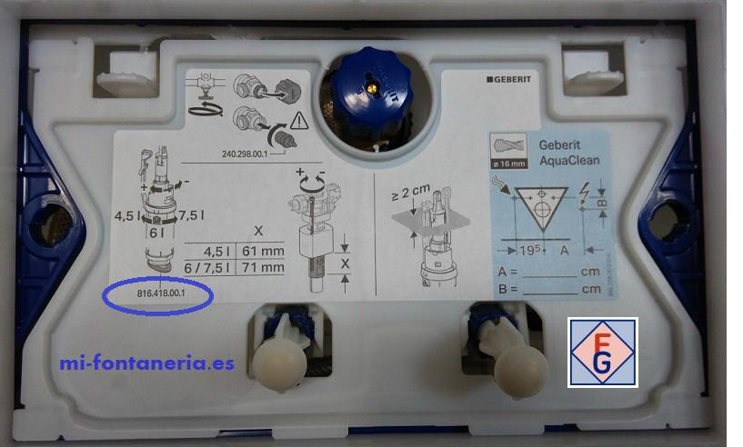Tapa Registro Cisterna UP320