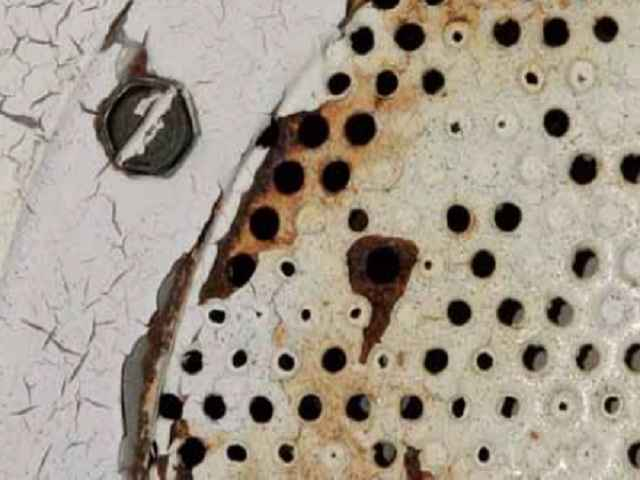 Efectos de la corrosión en piscinas