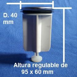 Medidas del Tapón Repuesto Roca AG0096200R