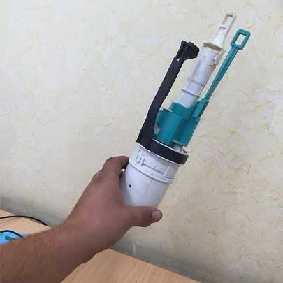 Mecanismo descarga Geberit Blanco Verde