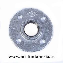 Brida Figura 321 de hierro galvanizado